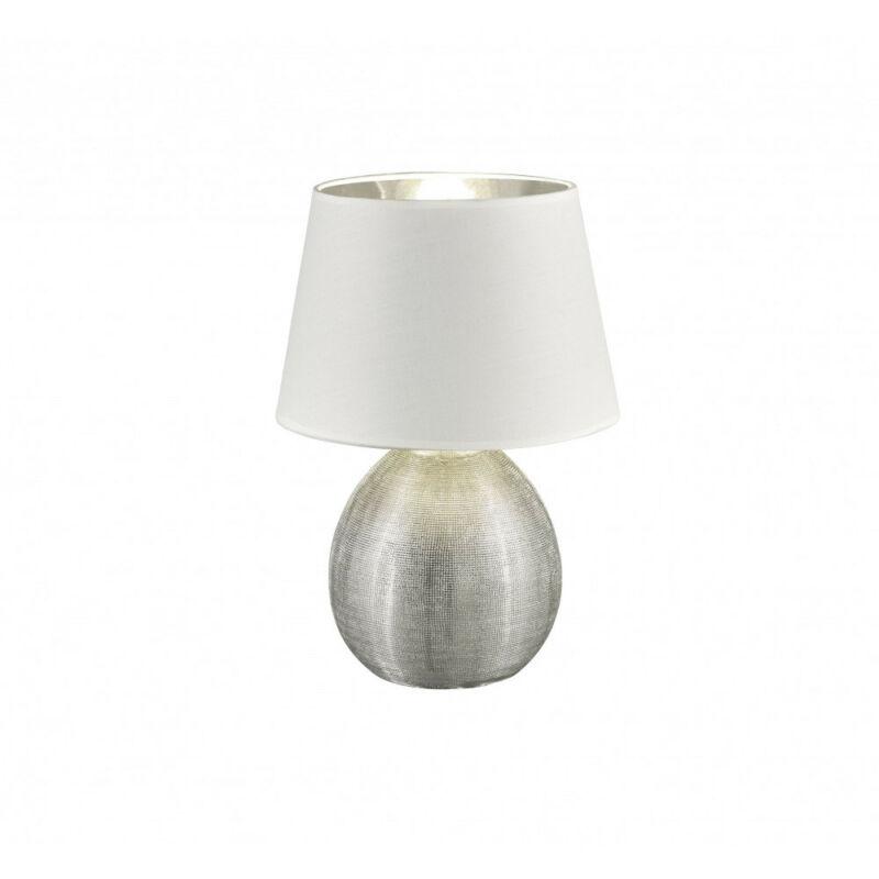 Trio LUXOR R50631089 asztali lámpa ezüst kerámia excl. 1 x E27, max. 60W E27 1 db IP20