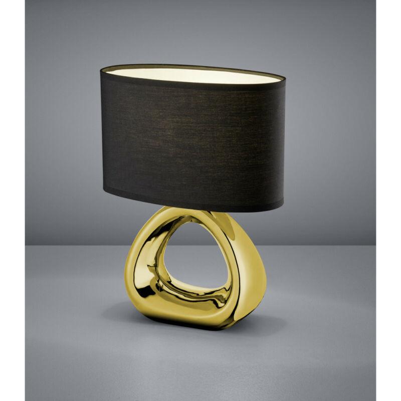 Trio GIZEH R50841079 asztali lámpa arany kerámia excl. 1 x E27, max. 60W E27 1 db IP20