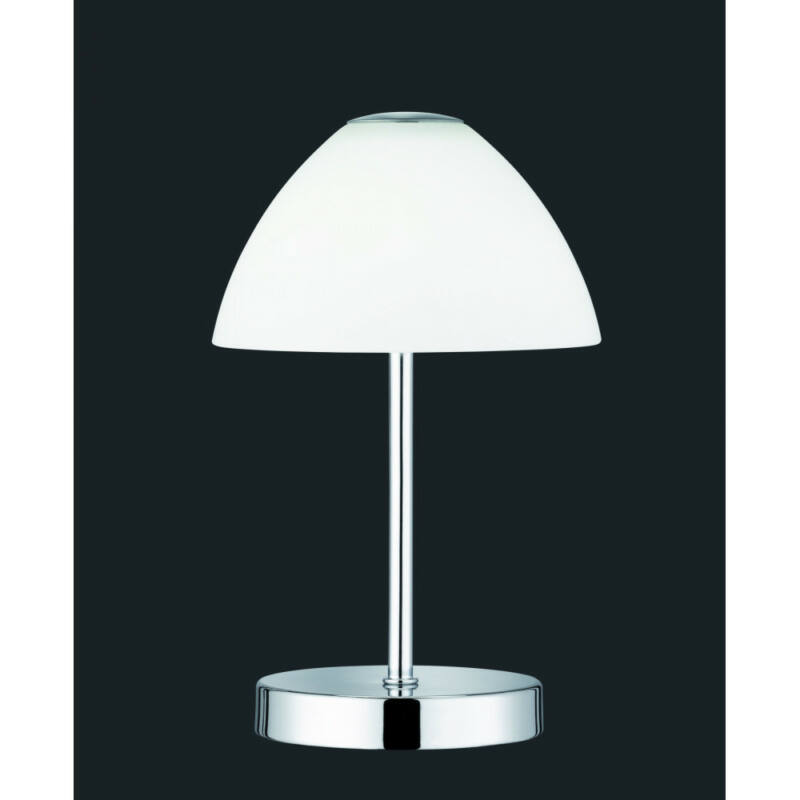 Trio QUEEN R52021106 éjjeli asztali lámpa króm fém incl. 1 x SMD, 2,5W, 3000K, 200Lm 200 lm 3000 K IP20 A+