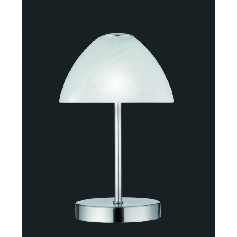 Trio QUEEN R52021107 éjjeli asztali lámpa matt nikkel fém incl. 1 x SMD, 2,5W, 3000K, 200Lm 200 lm 3000 K IP20 A+