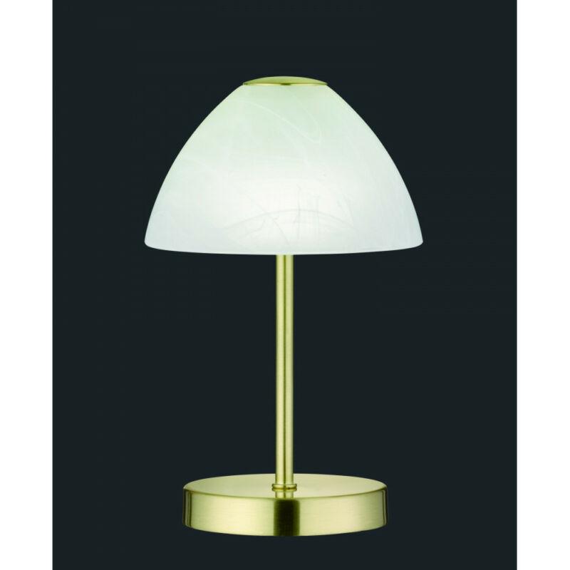 Trio QUEEN R52021108 éjjeli asztali lámpa sárgaréz fém incl. 1 x SMD, 2,5W, 3000K, 200Lm 200 lm 3000 K IP20 A+