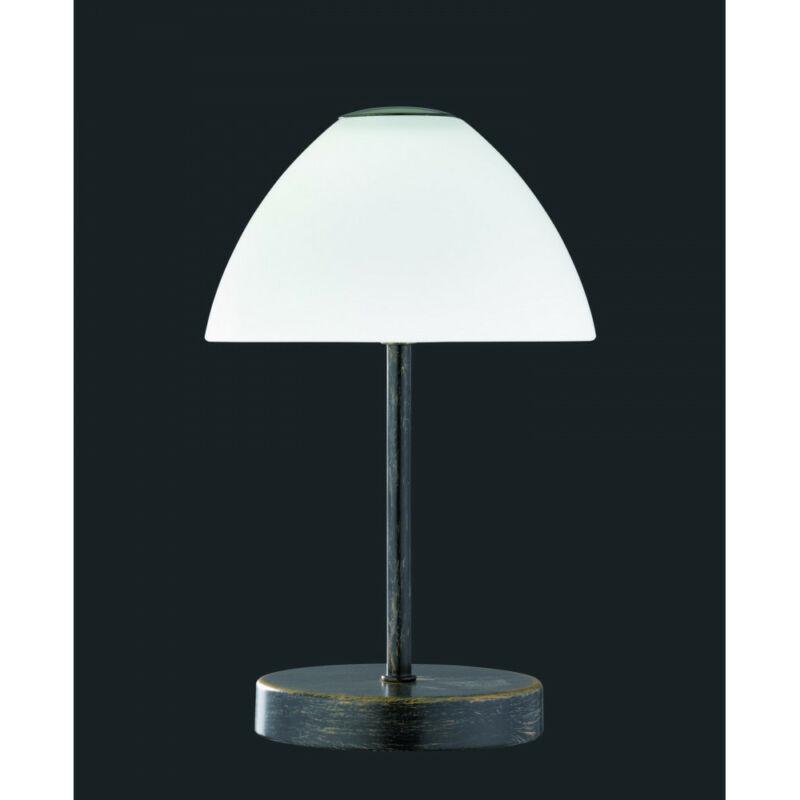 Trio QUEEN R52021128 éjjeli asztali lámpa patina fém incl. 1 x SMD, 2,5W, 3000K, 200Lm 200 lm 3000 K IP20 A+
