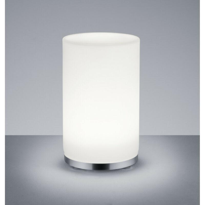 Trio JOHN R52221106 ledes asztali lámpa króm fém incl. 1 x SMD, 5,5W, 3000K, 430Lm 1 db 430 lm 3000 K IP20 A+