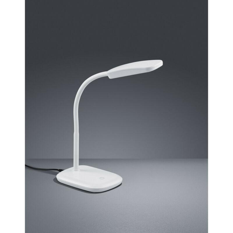 Trio BOA R52431101 ledes asztali lámpa fehér műanyag incl. 1 x SMD, 3,5W, 3000K, 350Lm 350 lm 3000 K IP20 A+
