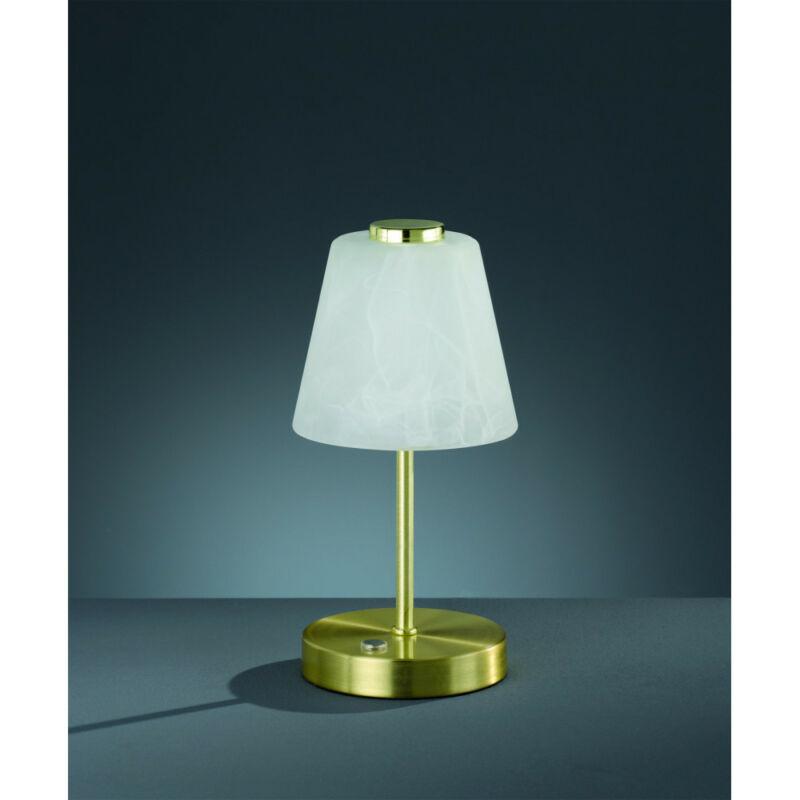 Trio EMMY R52541908 íróasztal lámpa matt sárgaréz fém incl. 1 x SMD, 2,5W, 3000K, 200Lm SMD 1 db 200 lm IP20 A+