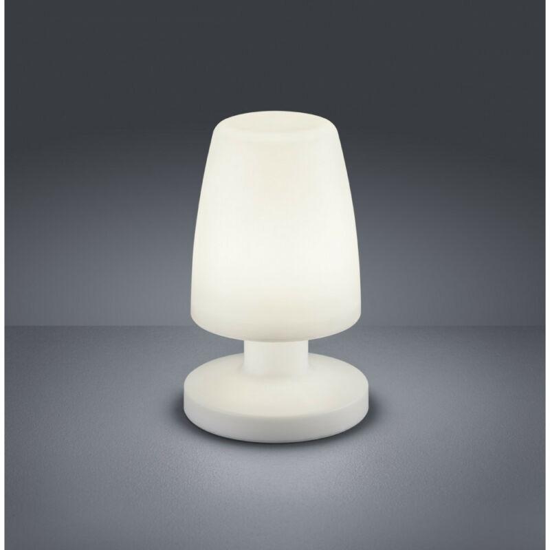 Trio DORA R57051101 kültéri led állólámpa fehér műanyag incl. 1 x SMD, 1,5W, 3000K, 90Lm SMD 1 db 90 lm IP44 A+