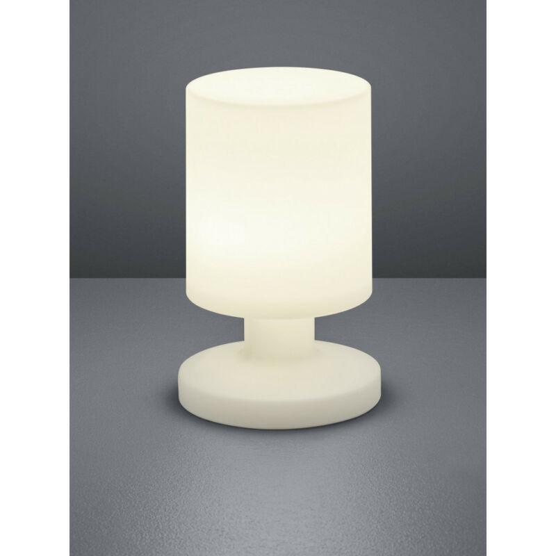 Trio LORA R57071101 éjjeli asztali lámpa fehér műanyag incl. 1 x SMD, 1,5W, 3000K, 90Lm 1 db 90 lm 3000 K IP44 A+