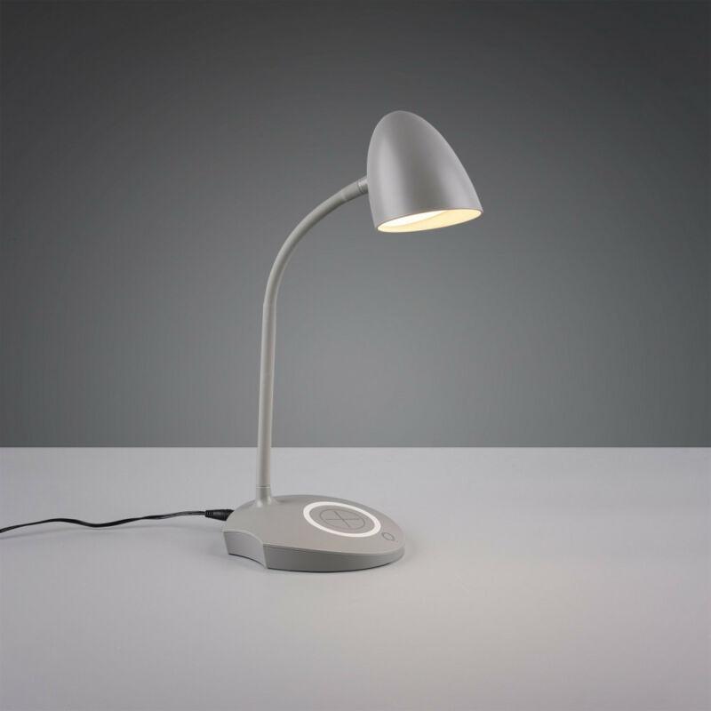 Trio LOAD R59029911 íróasztal lámpa szürke műanyag incl. 4W LED, 3000K, 480Lm SMD 1 db 480 lm IP20 A++