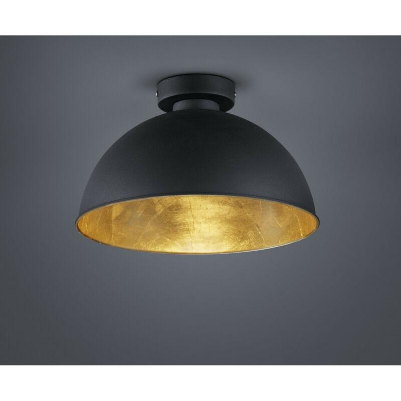 Trio JIMMY R60121002 mennyezeti lámpa fekete fém excl. 1 x E27, max. 60W E27 1 db IP20