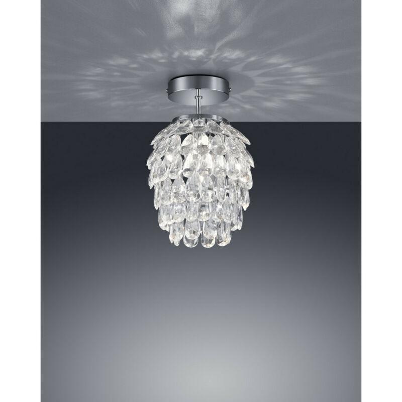 Trio PETTY R60451006 mennyezeti lámpa króm fém excl. 1 x E14, max. 40W E14 1 db IP20