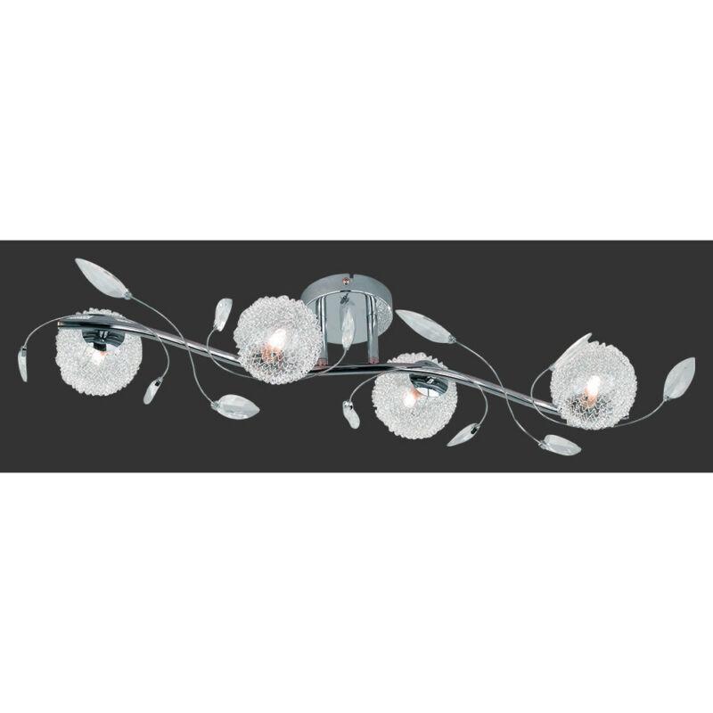 Trio WIRE R61354106 mennyezeti lámpa  króm   incl. 4 x G9, 28W, 2800K, 370Lm   G9   4 db