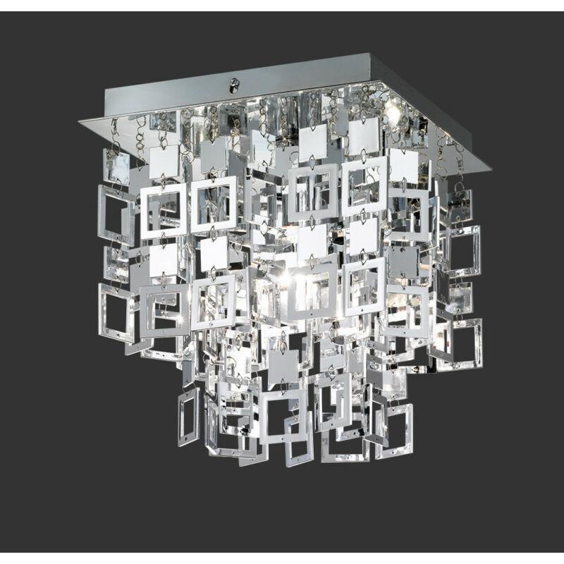 Trio Quadrato R61441106 mennyezeti lámpa króm fém excl. 1 x E27, max. 60W E27 1 db IP20