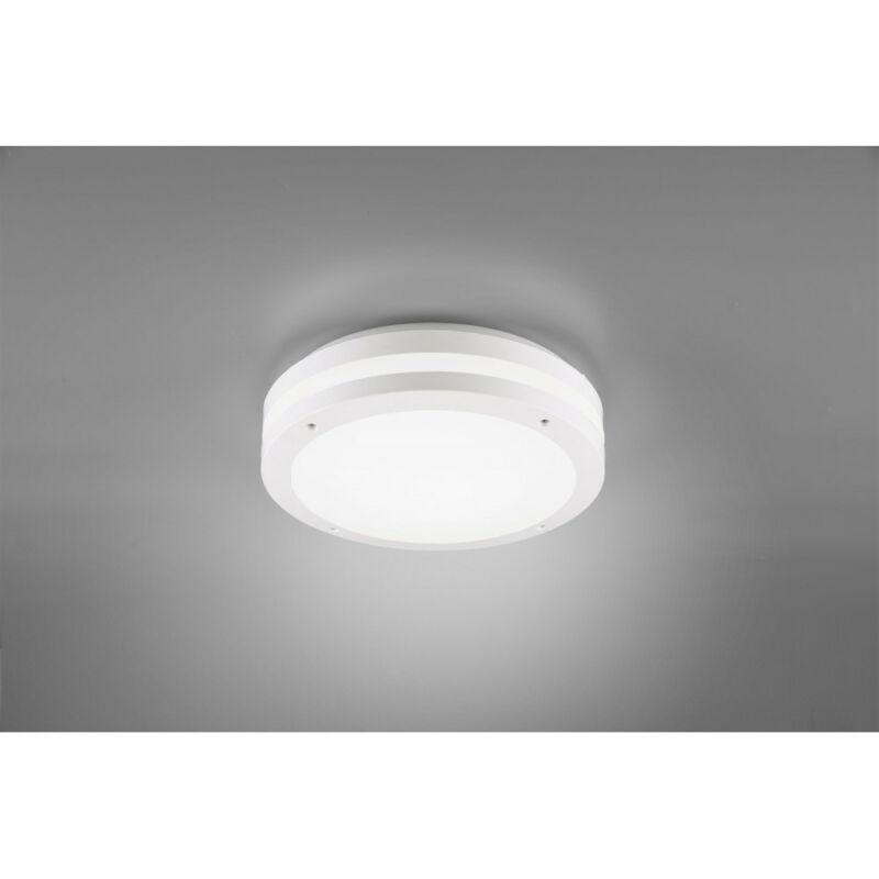 Trio KENDAL R62151131 kültéri mennyezeti led lámpa matt fehér műanyag incl. 12W LED, 3000K, 1000Lm SMD 1 db 1000 lm IP54 A