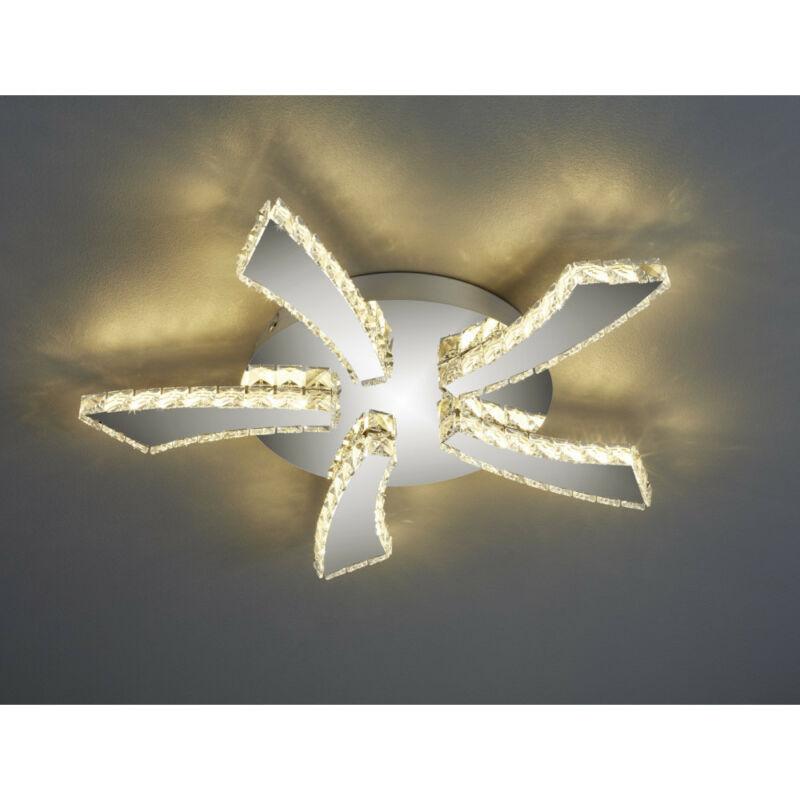 Trio PHIN R62485106 mennyezeti lámpa  króm   fém   incl. 1 x SMD, 30W, 3000+4500+6500K, 3000Lm   3000 lm  IP20   A
