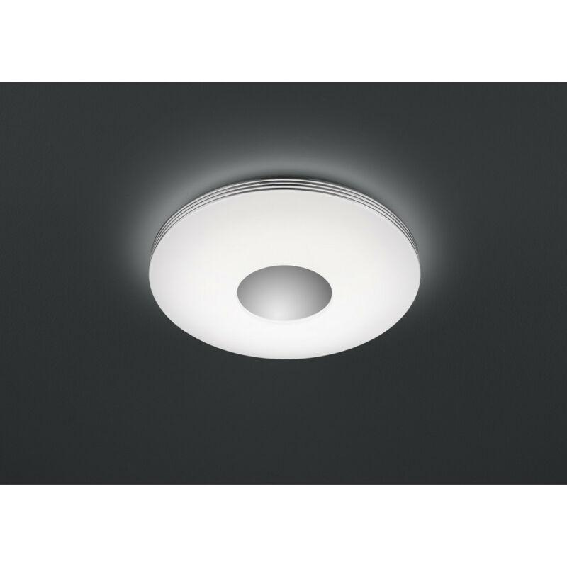 Trio CASTOR R62552506 mennyezeti lámpa  króm   műanyag   incl. 1 x SMD, 25W, 3000 - 6500K, 3000Lm   3000 lm  3000-5000 K  IP20