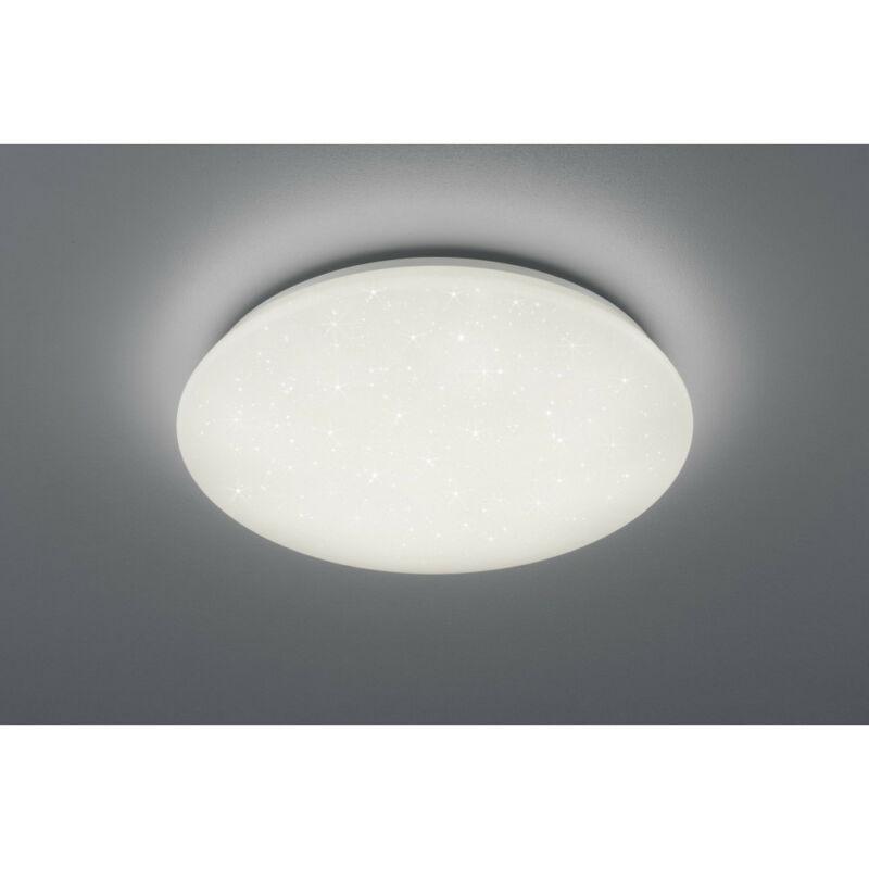 Trio POTZ R62603000 fürdőszoba mennyezeti lámpa fehér műanyag incl. 1 x SMD, 21W, 4000K, 2200Lm 1 db 2200 lm 4000 K IP44 A+
