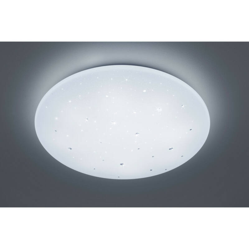 Trio ACHAT R62736000 mennyezeti lámpa  fehér   műanyag   incl. 1 x SMD, 45W, 3000 - 5500K, 4000Lm   SMD   1 db  4000 lm  IP20   A+