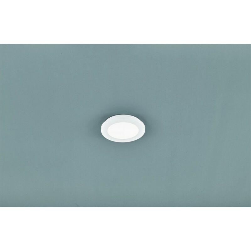Trio CAMILLUS R62921001 mennyezeti lámpa  fehér   műanyag   incl. 1 x SMD, 10W, 3000K, 850Lm   SMD   1 db  850 lm  IP44   A+