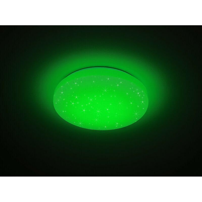 Trio CHARA R67111200 mennyezeti lámpa  fehér   akril   incl. 1 x SMD, 12W, 3000K, 950Lm   SMD   1 db  950 lm  IP20   A+