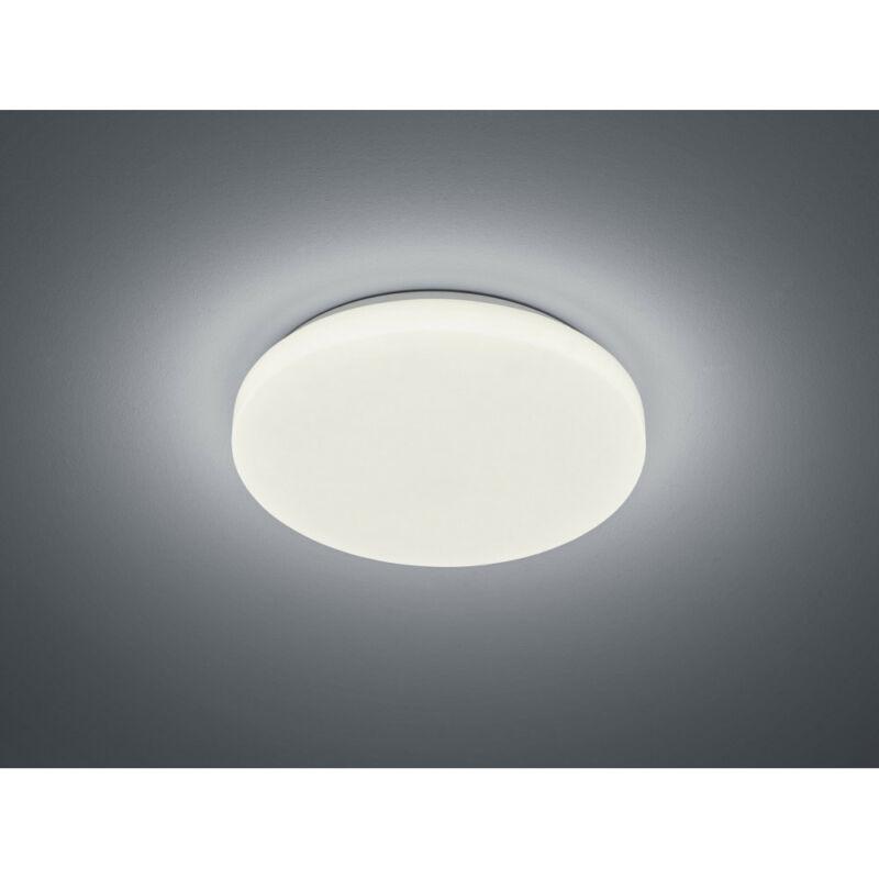 Trio CHARA R67111201 mennyezeti lámpa  fehér   akril   incl. 1 x SMD, 12W, 3000K, 950Lm   SMD   1 db  950 lm  IP20   A+