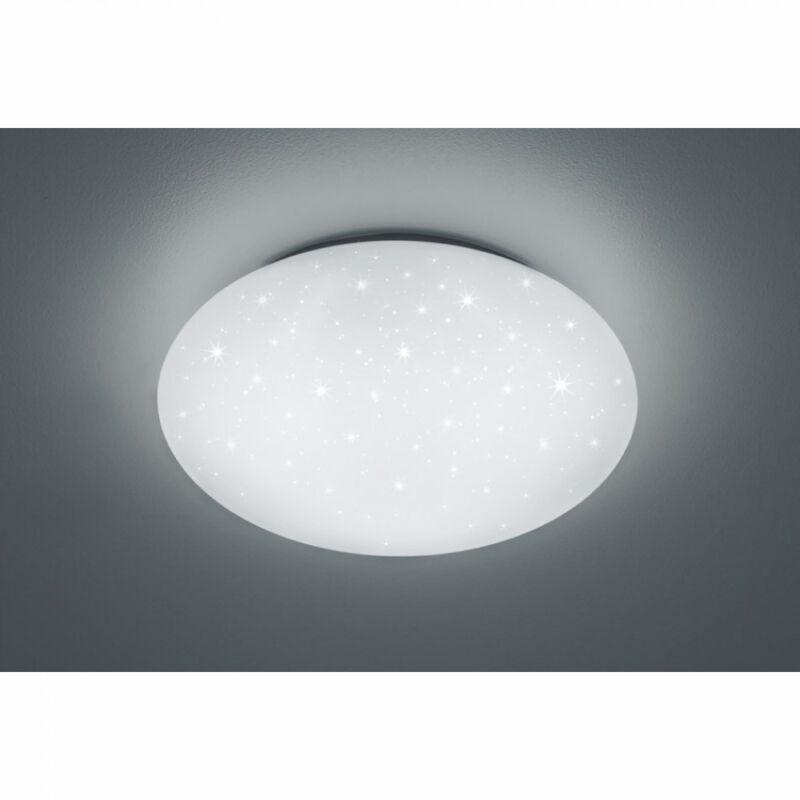 Trio HIKARI R67611100 mennyezeti lámpa fehér műanyag incl. 1 x SMD, 46W, 4000K, 4600Lm 4600 lm 4000 K IP20 A+