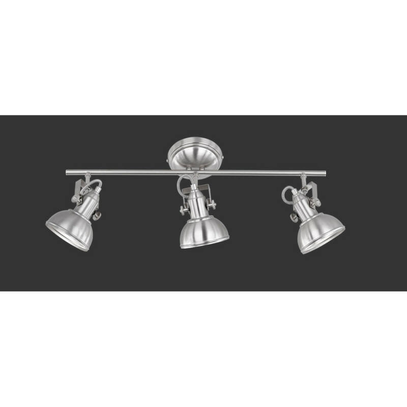 Trio GINA R80153007 mennyezeti lámpa nikkel fém excl. 3 x E14, max. 40W E14 3 db IP20
