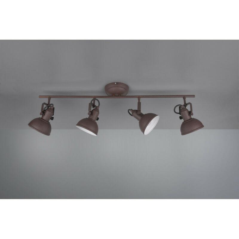 Trio GINA R80154024 mennyezeti lámpa  rozsda   fém   excl. 4 x E14   E14   4 db  IP20