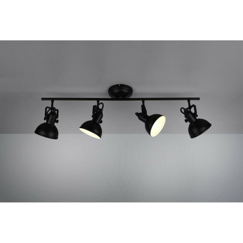 Trio GINA R80154032 mennyezeti lámpa  matt fekete   fém   excl. 4 x E14   E14   4 db  IP20