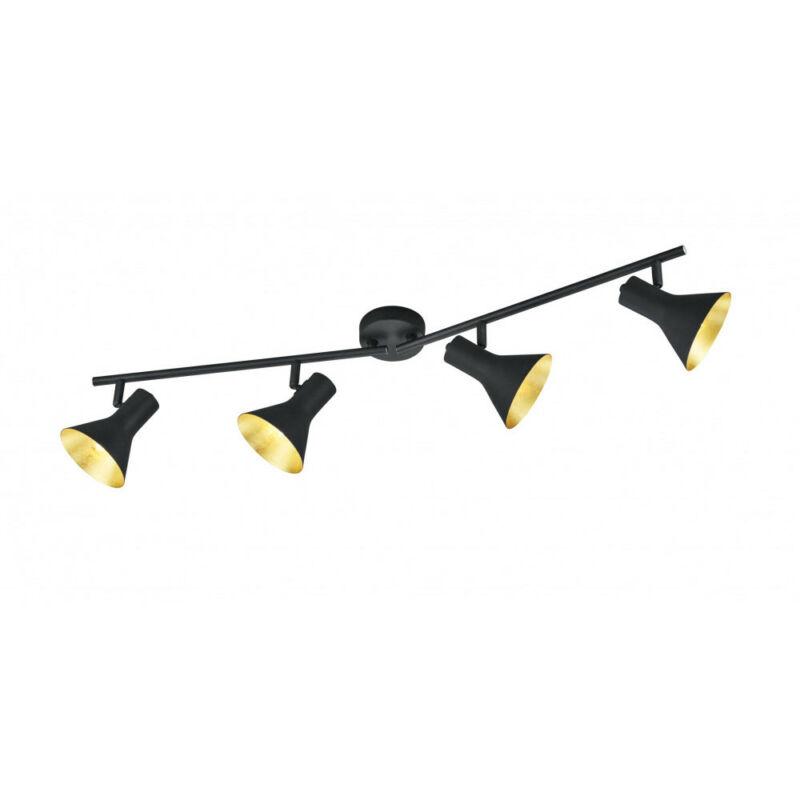 Trio NINA R80164002 mennyezeti lámpa  fekete   fém   excl. 4 x E14, max. 40W   IP20