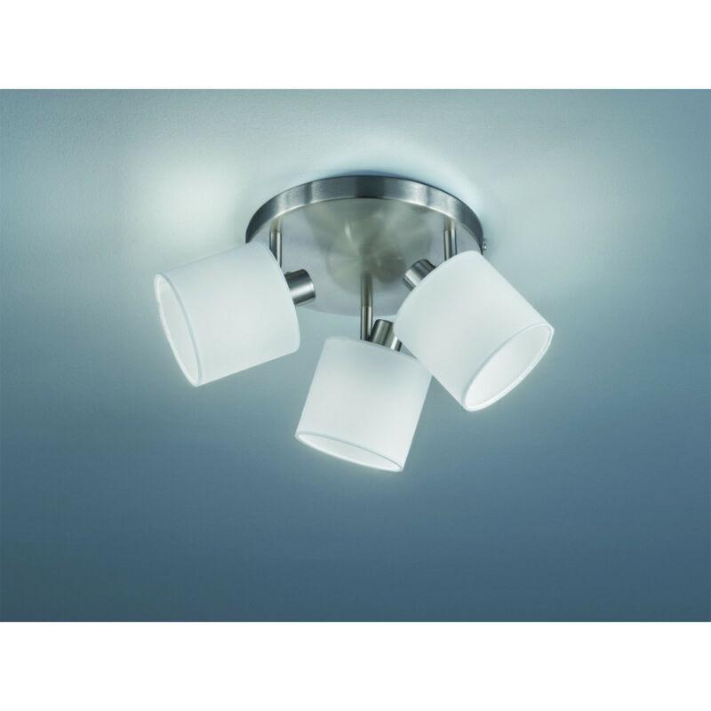 Trio TOMMY R80333901 mennyezeti lámpa  matt nikkel   fém   excl. 3 x E14, max. 28W   IP20