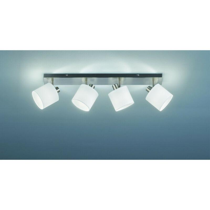 Trio TOMMY R80334001 mennyezeti lámpa  matt nikkel   fém   excl. 4 x E14, max. 28W   IP20