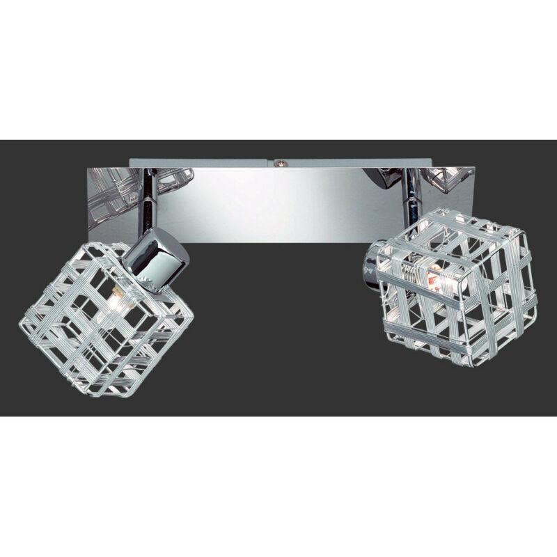 Trio JAIL R81352106 mennyezeti spot lámpa króm incl. 2 x G9, 28W, 2800K, 370Lm G9 2 db