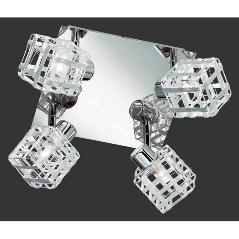 Trio JAIL R81354106 mennyezeti lámpa  króm   incl. 4 x G9, 28W, 2800K, 370Lm