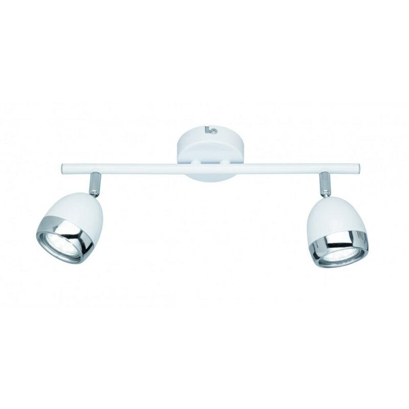 Trio NANTES R82102101 mennyezeti lámpa  fehér   fém   incl. 2 x GU10, 3W, 3000K, 250Lm   GU10   2 db  230 lm  3000 K  IP20