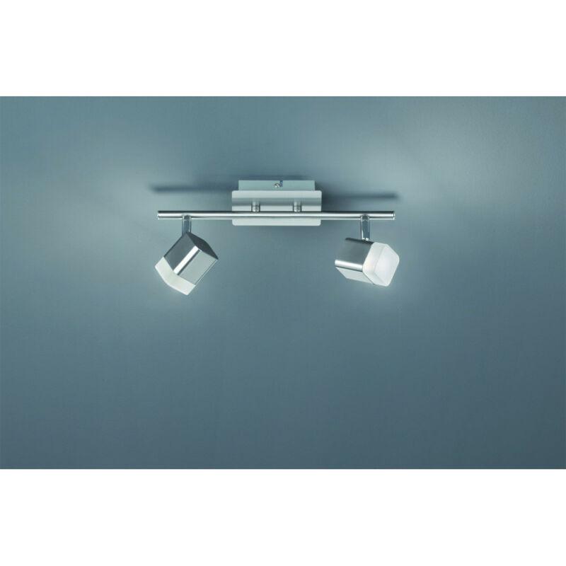 Trio ROUBAIX R82152107 mennyezeti lámpa  matt nikkel   fém   incl. 2 x SMD, 4W, 3000K, 400Lm   400 lm  IP20   A+
