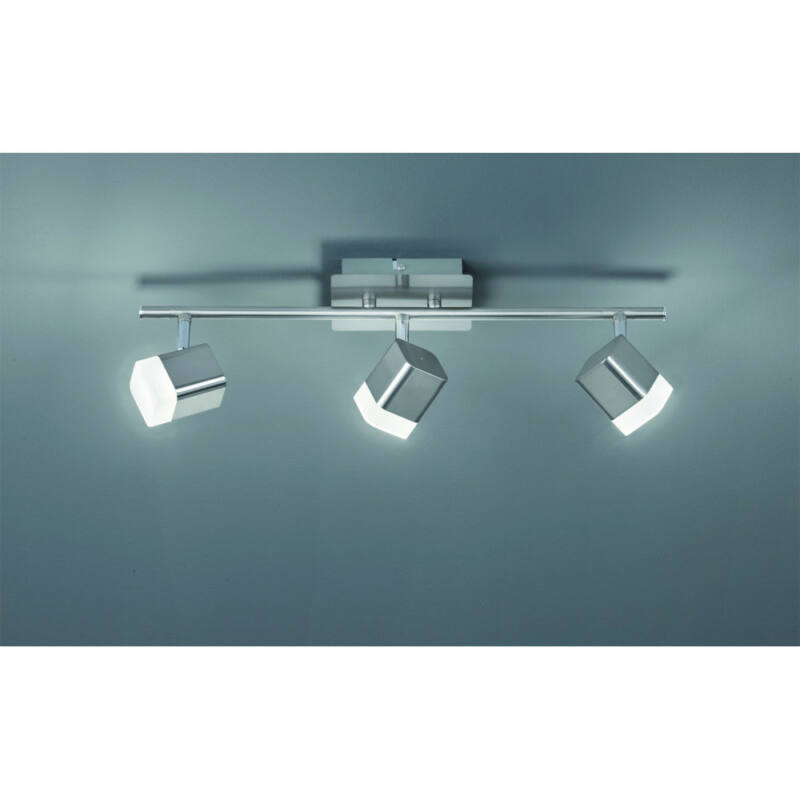 Trio ROUBAIX R82153107 mennyezeti lámpa  matt nikkel   fém   incl. 3 x SMD, 4W, 3000K, 400Lm   400 lm  IP20   A+