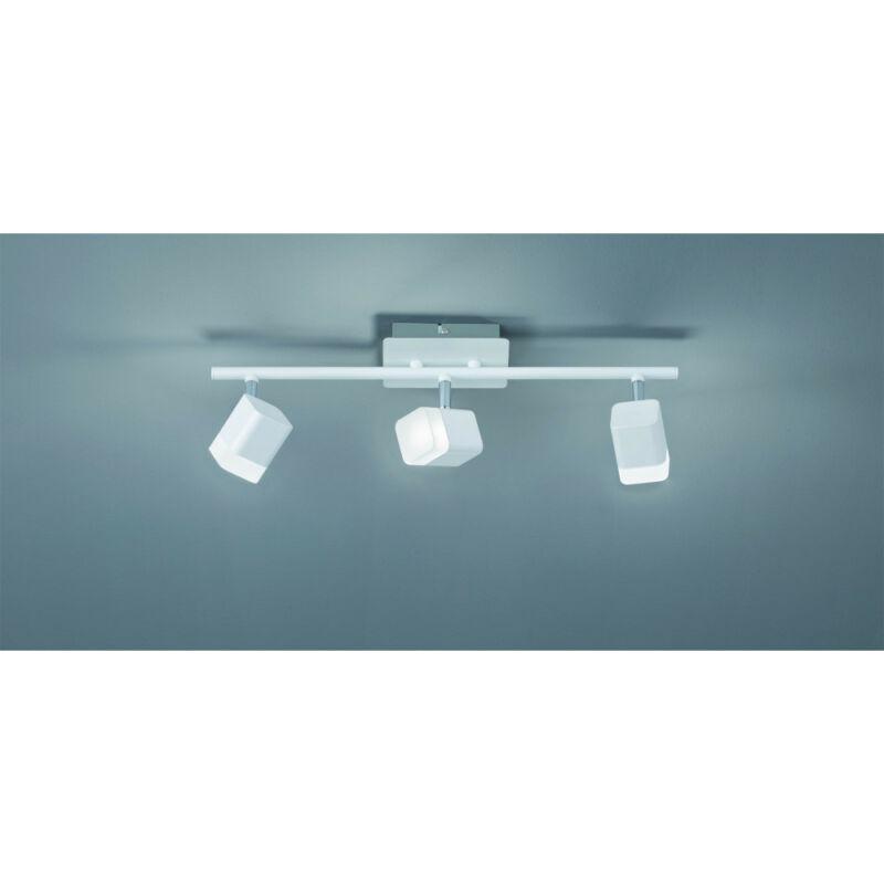 Trio ROUBAIX R82153131 mennyezeti lámpa  matt fehér   fém   incl. 3 x SMD, 4W, 3000K, 400Lm   400 lm  IP20   A+