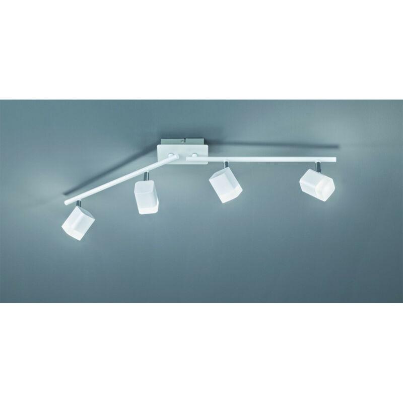 Trio ROUBAIX R82154131 mennyezeti lámpa  matt fehér   fém   incl. 4 x SMD, 4W, 3000K, 400Lm   SMD   4 db  400 lm  IP20   A+