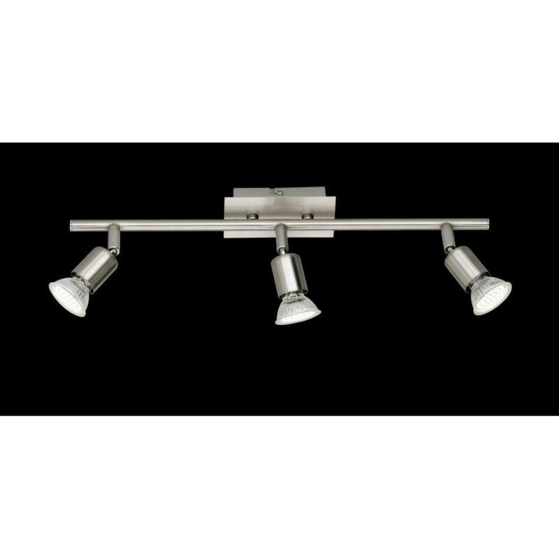 Trio NIMES R82943107 mennyezeti lámpa  nikkel   fém   incl. 3 x GU10, 3W, 3000K, 280Lm   450 lm  2700 K  IP20