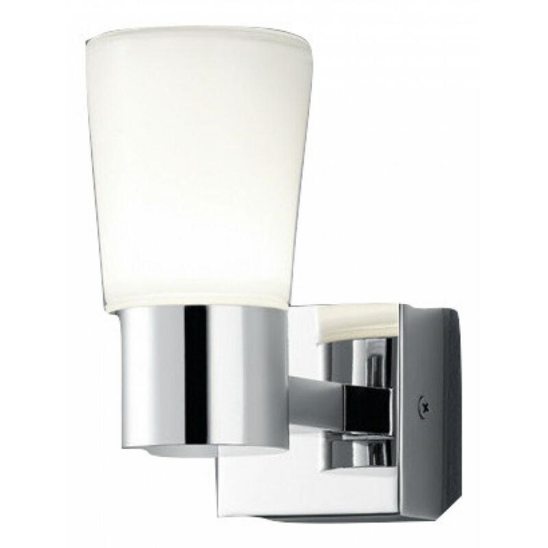 Trio NEVIO 282310106 fali lámpa króm fém incl. 1 x SMD, 3,2W, 3000K, 300Lm SMD 1 db 300 lm 3000 K IP44