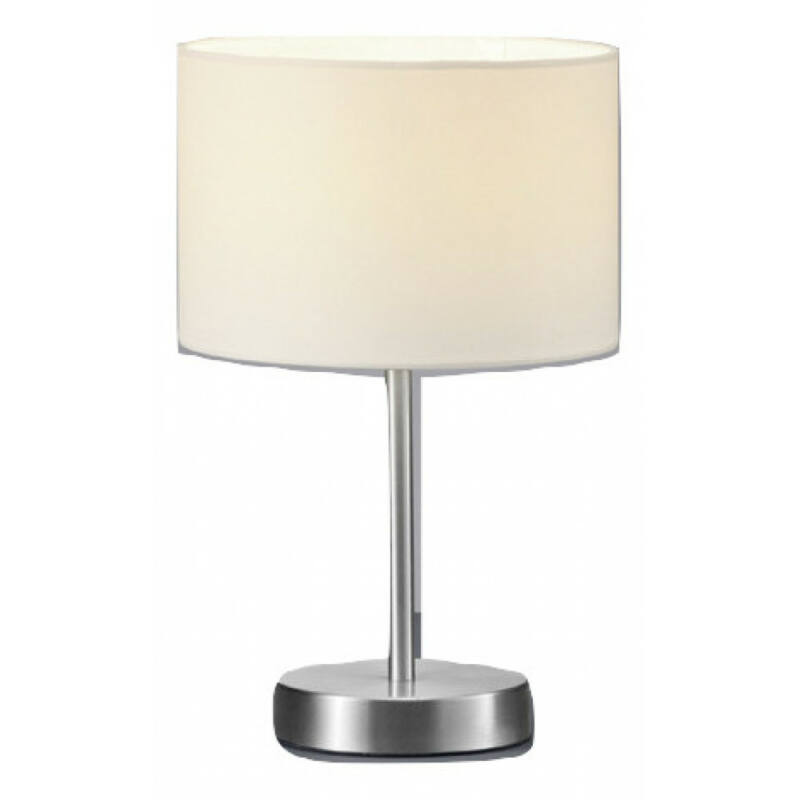 Trio HOTEL 501100101 asztali lámpa nikkel fém excl. 1 x E14, max. 40W E14 1 db IP20